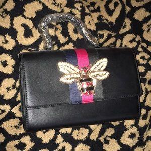 Vegan Leather small tote bag